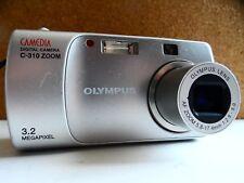 Olympus CAMEDIA C-310 Zoom / D-540 Zoom 3.2MP Digital Camera - Silver