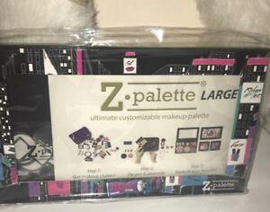 Z PALETTE Large Empty Customizable Magnetic Makeup Case Ricky's NYC City Scape