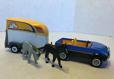PLAYMOBIL SUV with Horse Trailer 5223 Playset Figures