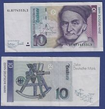 T75* Billet de Banque / DEUTSCHLAND / DEUTSCHE BUNDESBANK 10 MARK