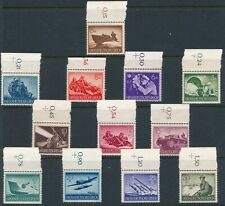 Lot Stamp Germany Mi 873-82, 84-5 1944 WWII 3rd Reich Wehrmacht Selection TT MNG