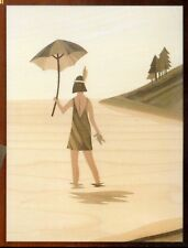 CHLOE MARQUETRY KIT, BEACH GIRL PICTURE CRAFT KIT