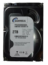 "Sonnics 2TB 3.5"" INCH SATA III INTERNAL HARD DISK DRIVE 7200RPM 64MB PC CCTV DVR"