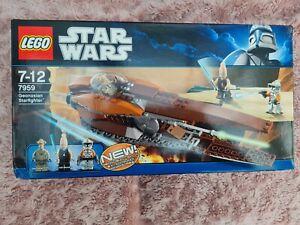 Lego Starwars 7959 Geonosian Starfighter