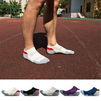 5 Pairs Men's polo sport Crew Quarter Combed Cotton Ankle Casual Socks Size 7-12