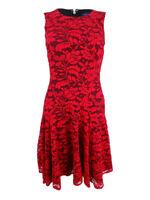 Tommy Hilfiger Women's Drop-Waist Lace A-Line Dress