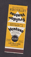 ancienne  pochette allumettes France BN15073 Ventose  Lastar