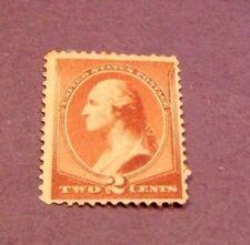 US Stamp Scott# 210 Washington 1883  MH C230