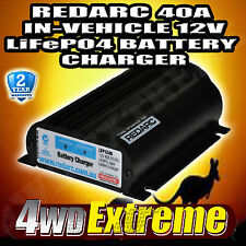 REDARC LFP1240-LV LITHIUM BATTERY DUAL BATTERY ISOLATOR SYSTEM DC TO DC CHARGER