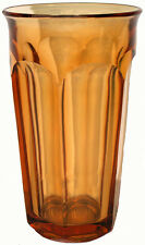 1970's Westmoreland Glass Golden Sunset Colonial Pattern 13oz. Iced Tea Tumbler