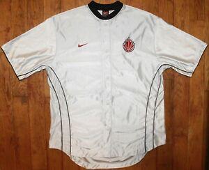 Vintage Nike Team Canada/Toronto Raptors Basketball Warm-Up/Shooting Jersey