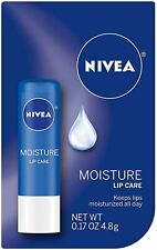 NIVEA A Kiss of Moisture Essential Lip Care 0.17 oz (Pack of 5)