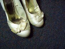 Court Silk Blend Upper Bridal Shoes