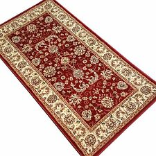 PERSIAN RUGS TRADITIONAL STYLE 80x150cm RED HERITAGE HEATSET RUG 2117