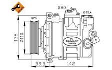 NRF Compresor, aire acondicionado SEAT LEON VOLKSWAGEN GOLF AUDI A3 SKODA 32146