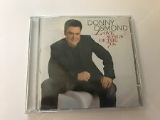 Donny Osmond: Love Songs Of The '70s (CD) NEW SEALED 0602517255609