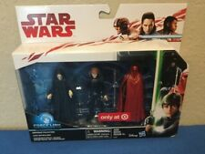 Star Wars Emperor Palpatine Luke Skywalker Royal Guard Target Exclusive Set