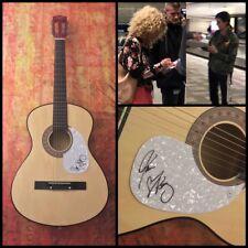 GFA Karen & Kimberly * LITTLE BIG TOWN * Band Signed Acoustic Guitar AD1 COA