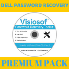 DELL Password Reset Recovery Removal CD DVD Disc Windows XP VISTA 7 8 10