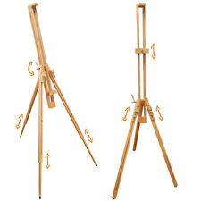 STUDIO WOOD EASEL STAND ARTIST ART CRAFT PAINTING DRAWING FULL STANDING TRIPOD