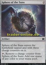 4x Sphere of the Suns (Sphäre der Sonnen) Modern Masters 2015 Magic
