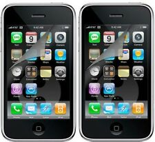 2x LCD Screen Protector for Apple iPhone 3G 8GB 16GB UK