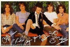 AC/DC ++Autogramme++ ++Rock Legende 70er Jahre++2