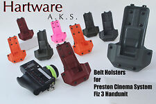 HartWare Belt Holster for Preston Cinema Systems FIZ3 Hand Unit