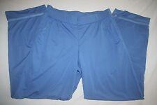 Nike Sweat Athletic Pant Dri Fit Workout Women M 8 10 Blue NEW