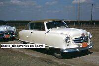 60 Rare Vintage 1950s Car Auto Trucks Lot of Original Photos from Slides on CD