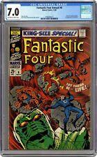 Fantastic Four Annual #6 CGC 7.0 1968 3760056017 1st app. Franklin Richards