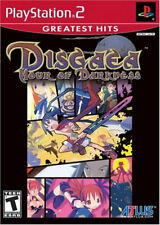 Disgaea: Hour Of Darkness (Greatest Hits) PS2 New Playstation 2