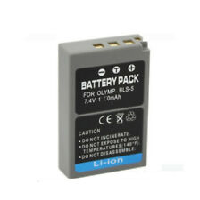 Battery for Olympus BLS-5,BLS5,BLS-50,OM-D E-M10, Stylus 1, Stylus 1s