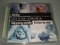 CD MAXI SINGLE SUPER JEWEL CASE MYLENE FARMER & MOBY SLIPPING AWAY COMME NEUF