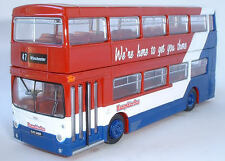 25805 EFE Daimler Fleetline DMS 1 Porte Double Jeu Bus Hampshire 1:76