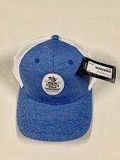 1387a652f4d 2018 PGA Championship Official Logo Hat Cap Olympic Blue White Ahead NWT PGA