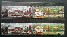 Portugal Thailand Joint Issue 500th Anniv Diplomatic 2011 Ship (stamp pair) MNH