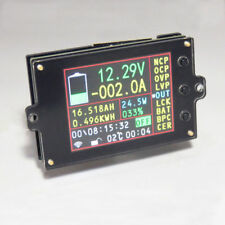 Wireless Battery Monitor Meter DC 120V 500A VOLT AMP AH SOC Remaining Capacity