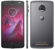 GOOD 6/10 Motorola Moto Z2 Force XT1789 64GB Lunar Gray T-Mobile HIGH IMAGE BURN