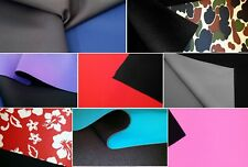Neoprene Fabric Remnants 1mm, 2mm, 3mm, 5mm Scuba Waterproof Wetsuit Material