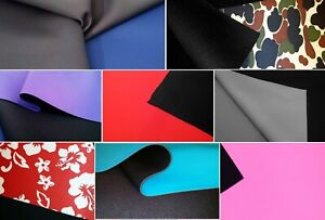 1mm, 2mm, 3mm, 5mm Neoprene Fabric Stretch Nylon Lined Waterproof Wetsuit Rubber