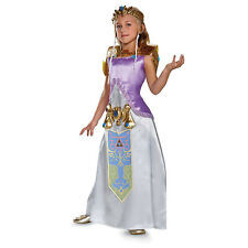 Nintendo Legend of Zelda Girl's Deluxe Zelda Child Costume | Disguise 98784