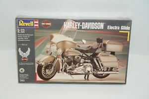 Revell Harley-Davidson 1/12 Electra Glide Motorcycle Plastic Model Kit Sealed