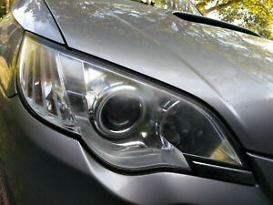 SUBARU LEGACY OUTBACK Headlight xenon HID 2008 (Driver Side O/S)