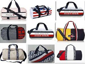 TOMMY HILFIGER Kids Mini Small Medium Large Duffle Duffel Bag Travel Gym CarryOn