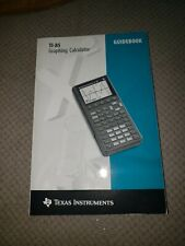 Texas Instruments Guidebook for Ti-85 Graphing Calculator Book Manual 1993