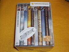 MVM BOX COFANETTO 10 GIOCHI NUOVI STUPENDI x PC DVD ROM STRATEGIA AZIONE ECC...