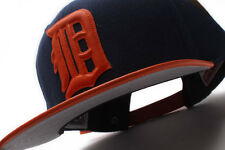 Detroit Tiger American Needle (40727A/DET) Faux Leather Strapback Hat