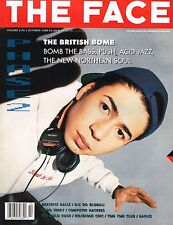 THE FACE October 1988 TIM SIMENON Beatrice Dalle SUSIE BICK Bomb the Bass @EXCLT
