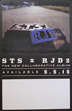 STS X RJD2 POSTER (A4)